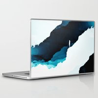 teal Laptop & iPad Skins featuring Teal Isolation by Stoian Hitrov - Sto
