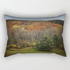 October Mountain Forest Rectangular Pillow
