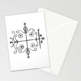 Papa Legba Voodoo Veve Stationery Cards