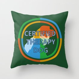 Animal Assisted Activities  - THERAPY DOG 8 Throw Pillow