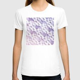 Abstract Geometric Cubes Design T-shirt