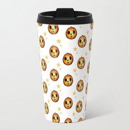 Boo Pumpkin Halloween Design Travel Mug