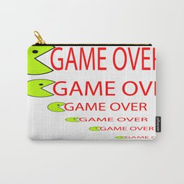 GAME OVER   (A7 B0005) Carry-All Pouch