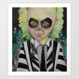 The Ghost with the Most Art Print