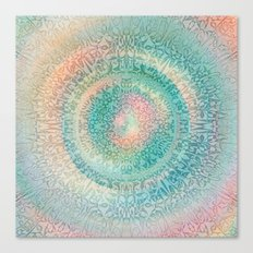 Pastel Mandala 2 Canvas Print