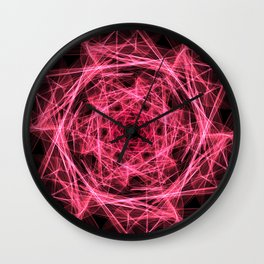 A study in pink 29 Wall Clock