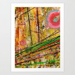 Action Landscape Art Print