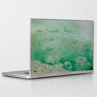 under the sea Laptop & iPad Skins featuring Under The Sea by ANoelleJay