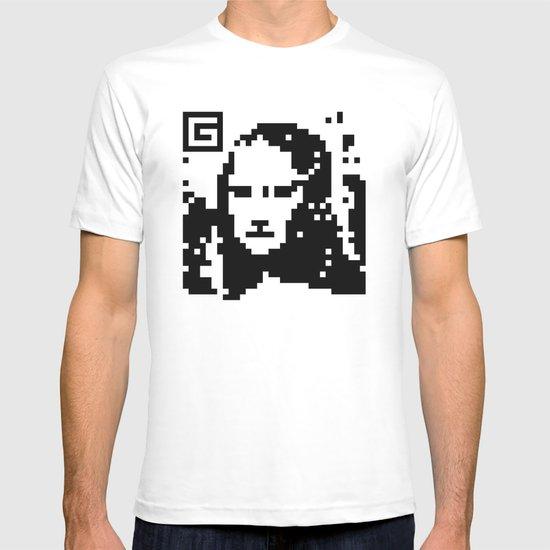 QR- Monalisa T-shirt