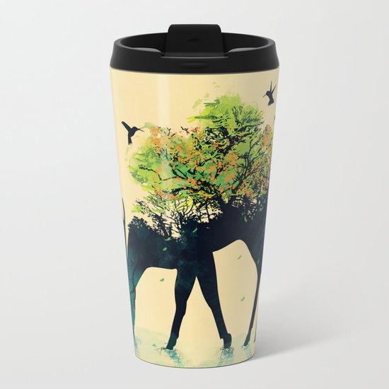 Watering (A Life Into Itself) Metal Travel Mug