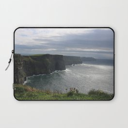 Sun Coming out over Cliffs of Moher Laptop Sleeve