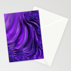 Purple Drapes Stationery Cards