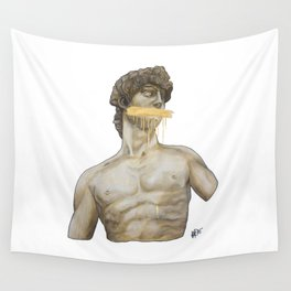 Dressed in Gold Wall Tapestry