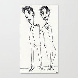 FRIENDS_SERIES_1 Canvas Print