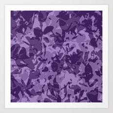 farba (violet) Art Print