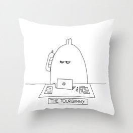 The TourBunny - Phone Throw Pillow
