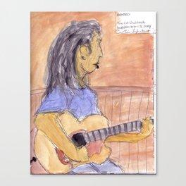 Matt McKenna - September 12, 2009 Canvas Print