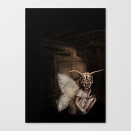 baby mothra Canvas Print