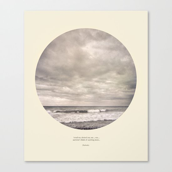 love the sea.... Canvas Print