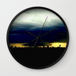Wall Cloud  Wall Clock