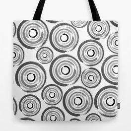 Enso Circles - Zen Circles pattern #1 Tote Bag