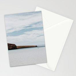 Minimal Landscape in La Paz, Baja Stationery Cards