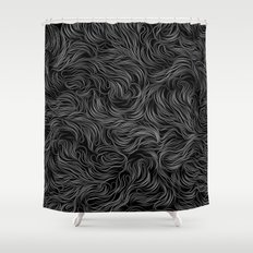 ab/strings-g Shower Curtain