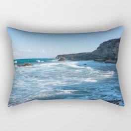 isla mujeres punta sur Rectangular Pillow
