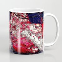 carnage Mugs featuring Carnage by Jeni Decker