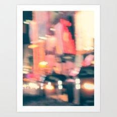 NY Lights Art Print