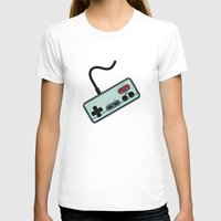 gamer T-shirts featuring Vintage + Retro Gamer / Gamer by BackInTheDay LAB