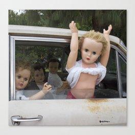 Dolls gone wild Canvas Print