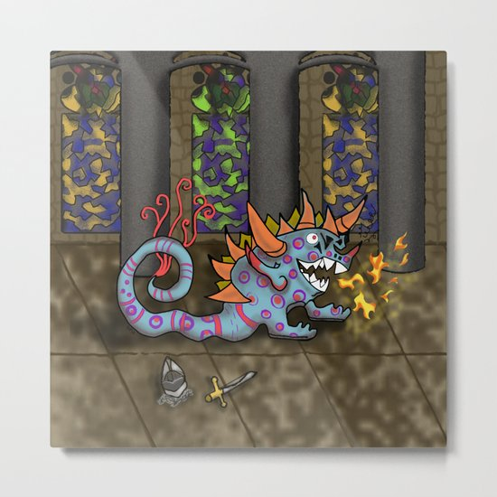 The Doodlethwumpus Metal Print
