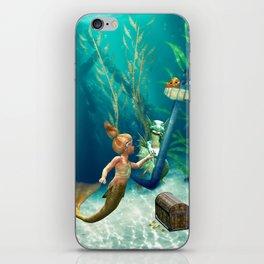 Cute Mermaid 2 iPhone Skin