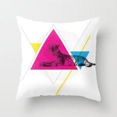 LibelluleMonde Throw Pillow