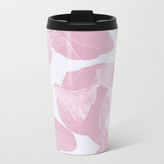 Pattern A15 Metal Travel Mug