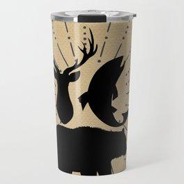 Outdoorsman Trio Silhouette Travel Mug