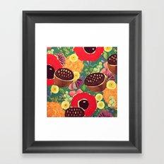 Garden City Framed Art Print