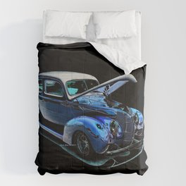 1939 Ford Coupe By Annie Zeno Comforters