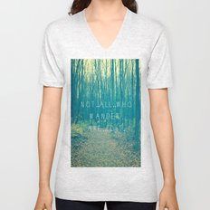 Wander in the Woods Unisex V-Neck