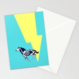 Electro Horse Stationery Cards
