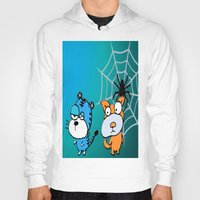 happy birthday Hoodies featuring Happy Birthday by LoRo  Art & Pictures