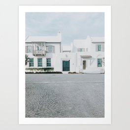beach house / alys beach, florida Art Print