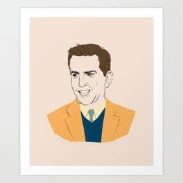 Andrew Baines Bernard Art Print
