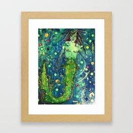 Merman At Last Framed Art Print
