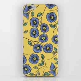 Floral Wisps iPhone Skin