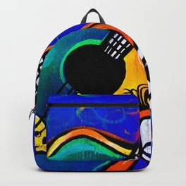 Carnival Jazz Painting Backpack