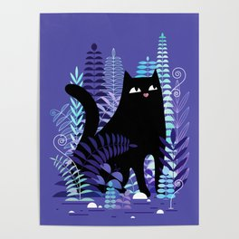 The Ferns (Black Cat Version) Poster