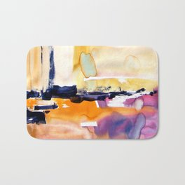 Landscape with Argonauts - Abstract 0028 Bath Mat