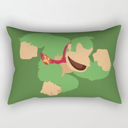 Donkey Kong(Smash)Green Rectangular Pillow